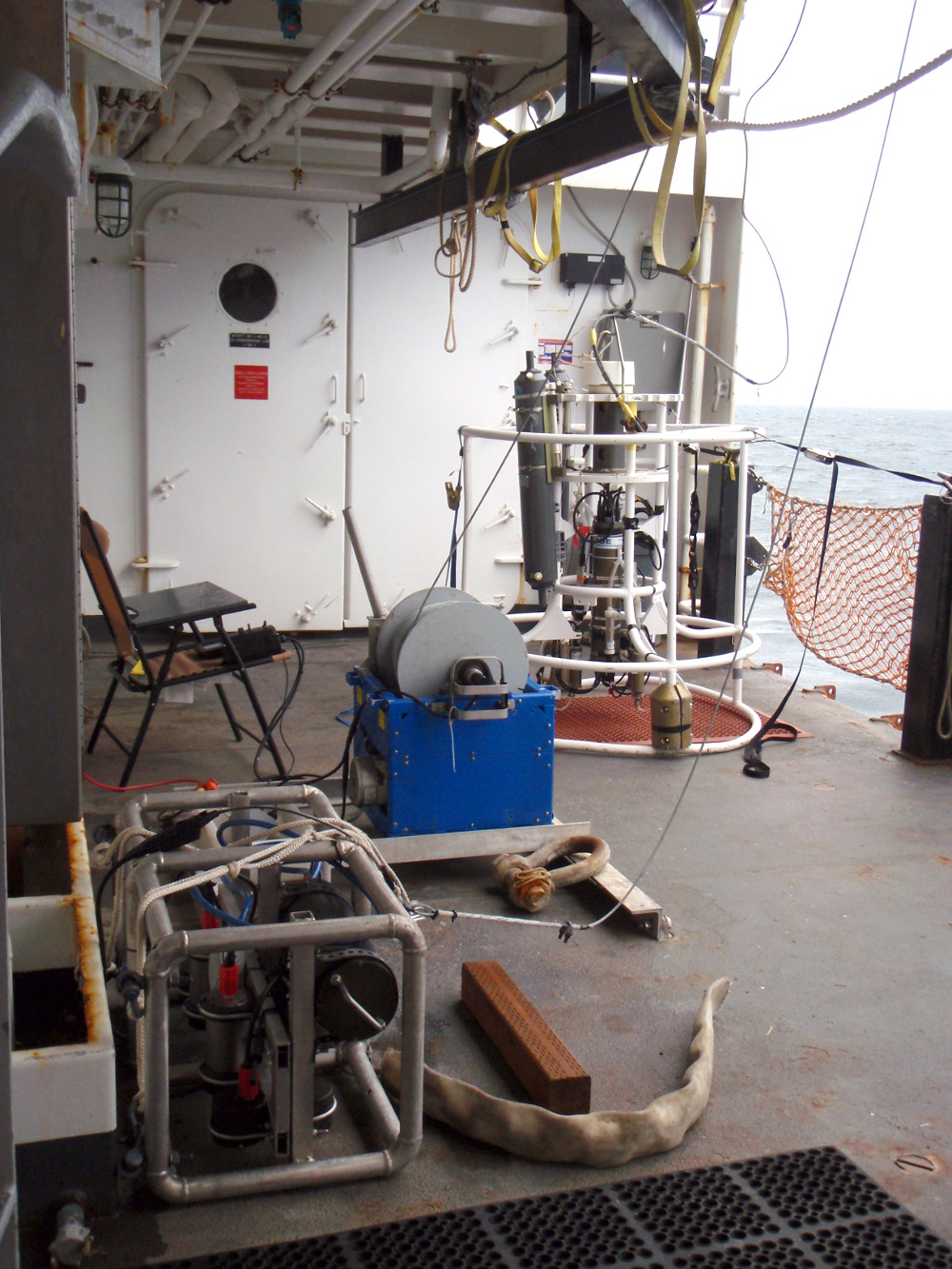 One of our winches aboard NOAA Ship Oscar Dyson (NOAA Ship Tracker)